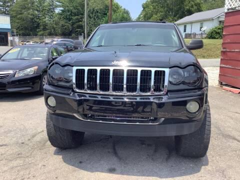 2005 Jeep Grand Cherokee for sale at Moose Motors in Morganton NC