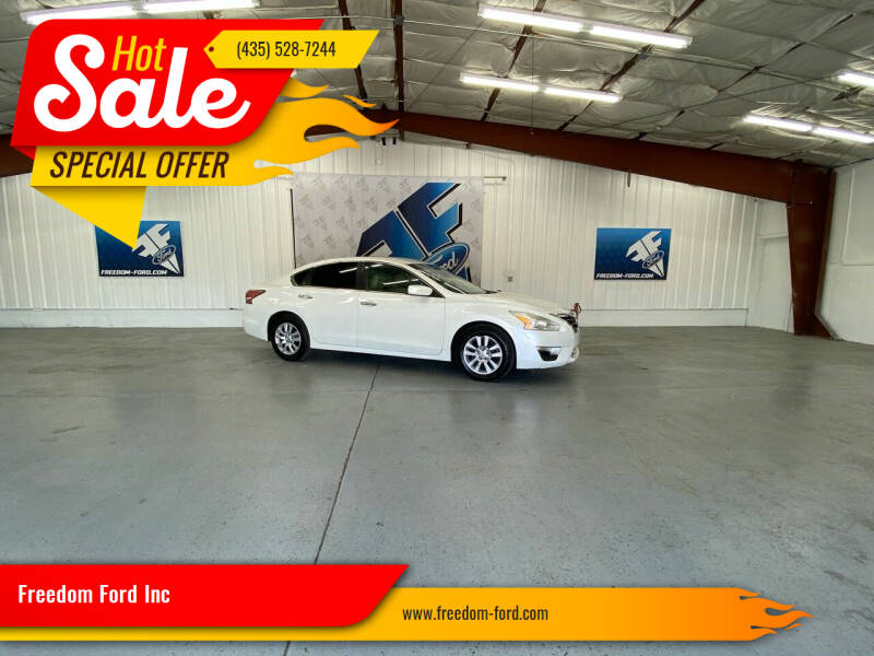 2014 Nissan Altima for sale at Freedom Ford Inc in Gunnison UT