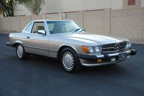 1988 Mercedes-Benz 560-Class for sale at Arizona Classic Car Sales in Phoenix AZ