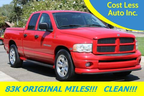 2003 Dodge Ram Pickup 1500 for sale at Cost Less Auto Inc. in Rocklin CA