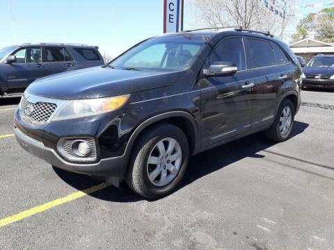 2012 Kia Sorento for sale at John 3:16 Motors in San Antonio TX
