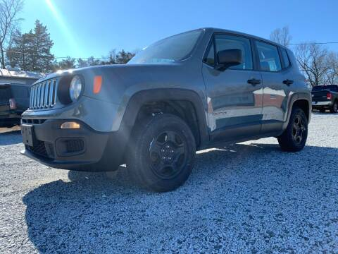 2017 Jeep Renegade for sale at Carolina Auto Sales in Trinity NC