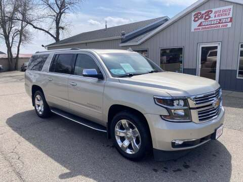 2015 Chevrolet Suburban for sale at B & B Auto Sales in Brookings SD