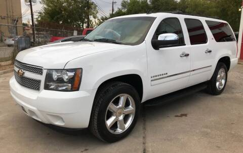 2010 Chevrolet Suburban for sale at FAST LANE AUTO SALES in San Antonio TX