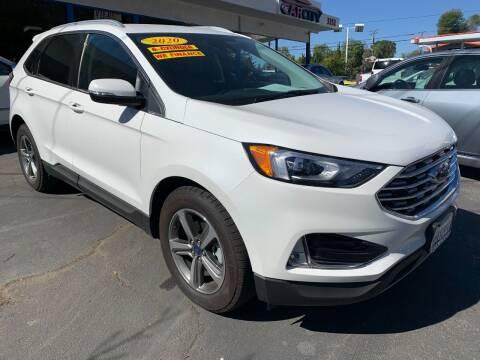 2020 Ford Edge for sale at CAR CITY SALES in La Crescenta CA