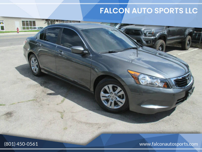 2012 Honda Accord for sale at Falcon Auto Sports LLC in Murray UT