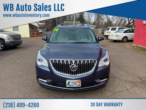 2014 Buick Enclave for sale at WB Auto Sales LLC in Barnum MN