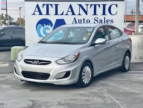 2013 Hyundai Accent for sale at Atlantic Auto Sale in Sacramento CA