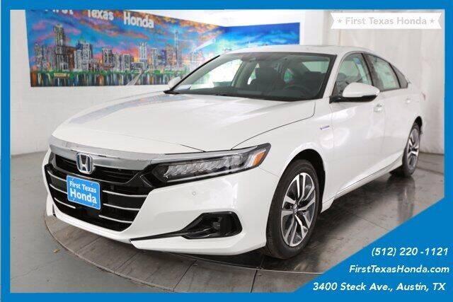 2021 Honda Accord Hybrid for sale in Austin, TX