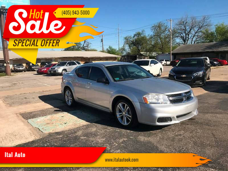 2012 Dodge Avenger for sale at Ital Auto in Oklahoma City OK