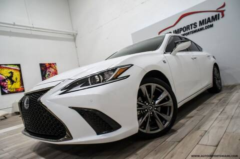 2019 Lexus ES 350 for sale at AUTO IMPORTS MIAMI in Fort Lauderdale FL