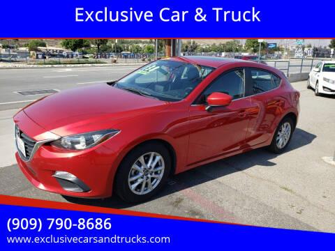 2014 Mazda MAZDA3 for sale at Exclusive Car & Truck in Yucaipa CA