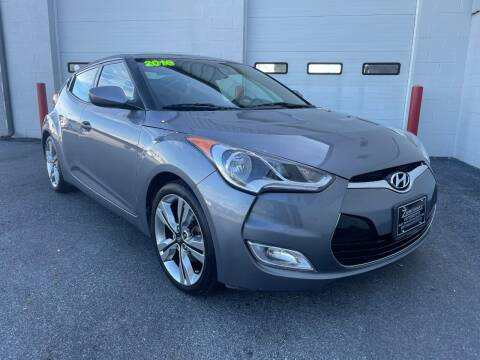 2016 Hyundai Veloster for sale at Zimmerman's Automotive in Mechanicsburg PA