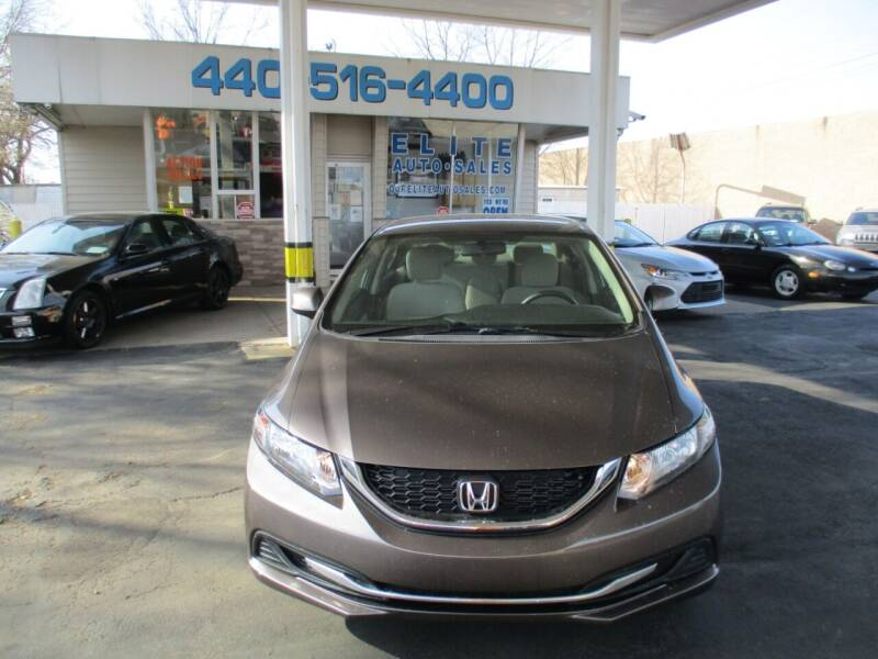 2013 Honda Civic for sale at Elite Auto Sales in Willowick OH