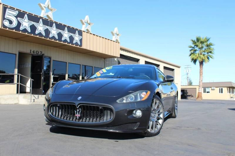 2012 Maserati GranTurismo for sale at 5 Star Auto Sales in Modesto CA