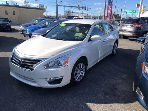 2015 Nissan Altima for sale at Sharon Hill Auto Sales LLC in Sharon Hill PA
