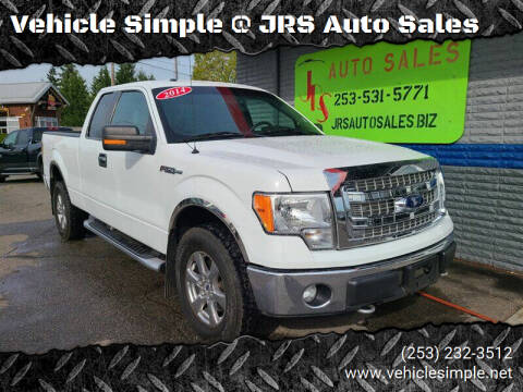 2014 Ford F-150 for sale at Vehicle Simple @ JRS Auto Sales in Parkland WA