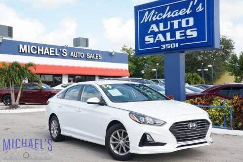 2019 Hyundai Sonata for sale at Michael's Auto Sales Corp in Hollywood FL