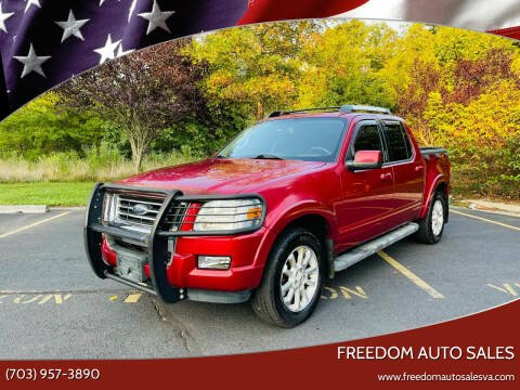 2007 Ford Explorer Sport Trac for sale at Freedom Auto Sales in Chantilly VA