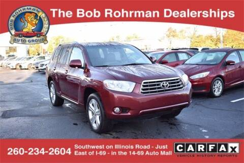 2010 Toyota Highlander for sale at BOB ROHRMAN FORT WAYNE TOYOTA in Fort Wayne IN