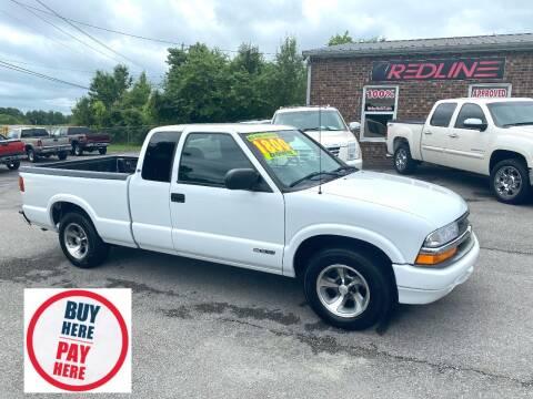 2001 Chevrolet S-10 for sale at Redline Motorplex,LLC in Gallatin TN