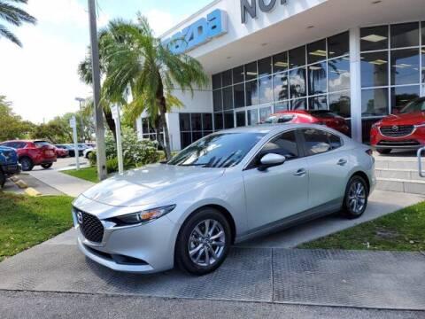2019 Mazda Mazda3 Sedan for sale at Mazda of North Miami in Miami FL