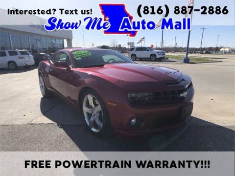 2013 Chevrolet Camaro for sale at Show Me Auto Mall in Harrisonville MO