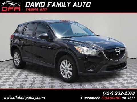 2015 Mazda CX-5 for sale at David Family Auto, Inc. in New Port Richey FL