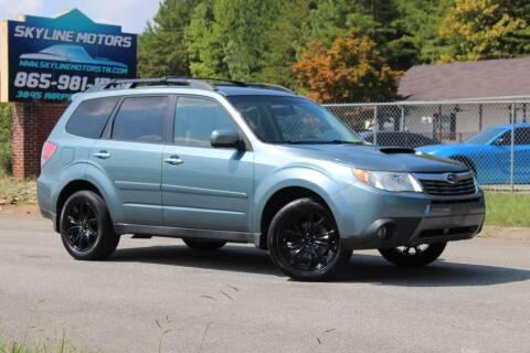 2010 Subaru Forester for sale at Skyline Motors in Louisville TN