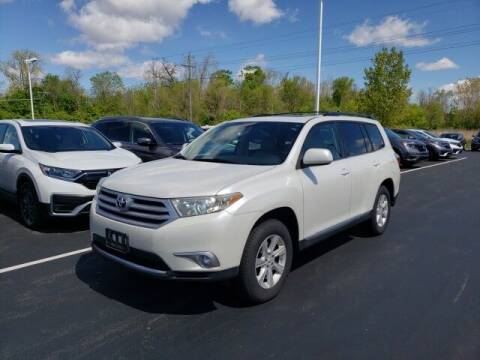 2012 Toyota Highlander for sale at White's Honda Toyota of Lima in Lima OH