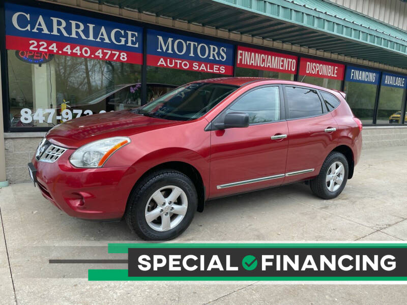 2012 Nissan Rogue for sale at Carriage Motors LTD in Ingleside IL