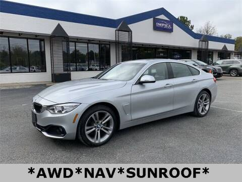 2017 BMW 4 Series for sale at Impex Auto Sales in Greensboro NC