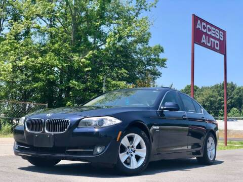 2012 BMW 5 Series for sale at Access Auto in Cabot AR