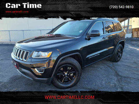 2015 Jeep Grand Cherokee for sale at Car Time in Denver CO