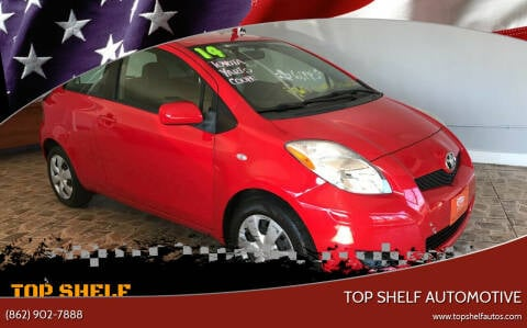 2011 Toyota Yaris for sale at TOP SHELF AUTOMOTIVE in Newark NJ