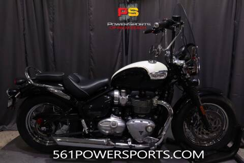 2018 Triumph Bonneville Speedmaster for sale at Powersports of Palm Beach in Hollywood FL