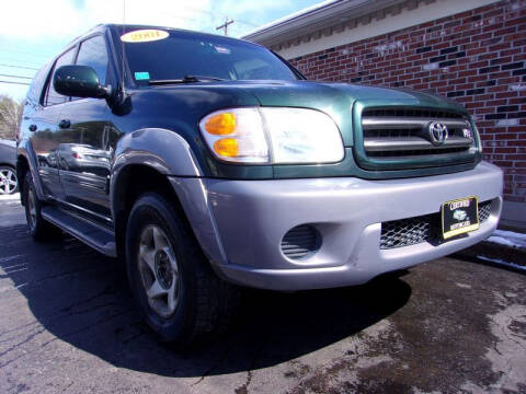 2001 Toyota Sequoia for sale at Certified Motorcars LLC in Franklin NH