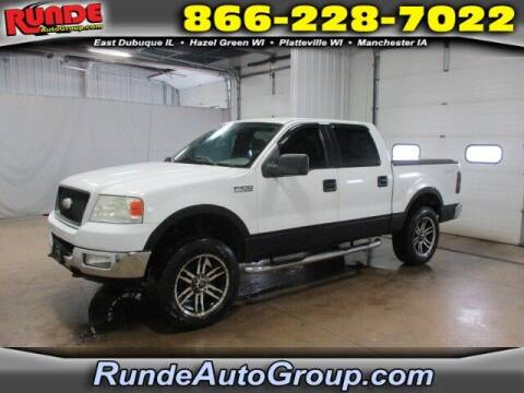 2005 Ford F-150 for sale at Runde Chevrolet in East Dubuque IL