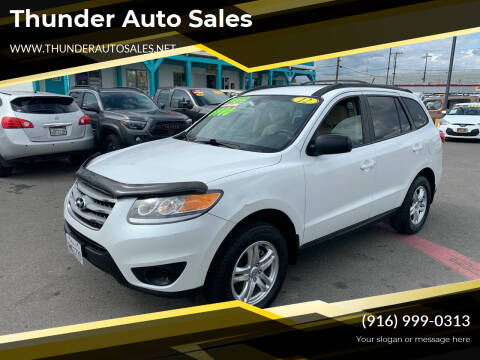 2012 Hyundai Santa Fe for sale at Thunder Auto Sales in Sacramento CA