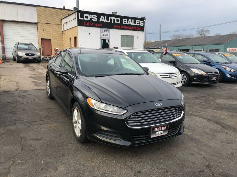 2014 Ford Fusion for sale at Lo's Auto Sales in Cincinnati OH