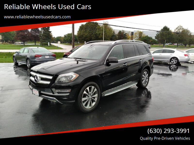 2015 Mercedes-Benz GL-Class for sale at Reliable Wheels Used Cars in West Chicago IL