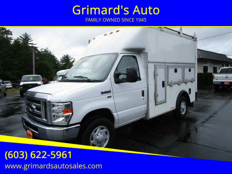 2014 Ford E-Series Chassis for sale at Grimard's Auto in Hooksett NH
