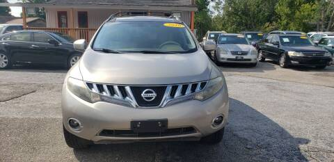 2010 Nissan Murano for sale at Anthony's Auto Sales of Texas, LLC in La Porte TX