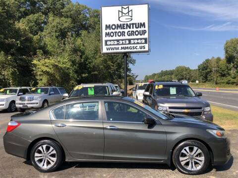 2013 Honda Accord for sale at Momentum Motor Group in Lancaster SC