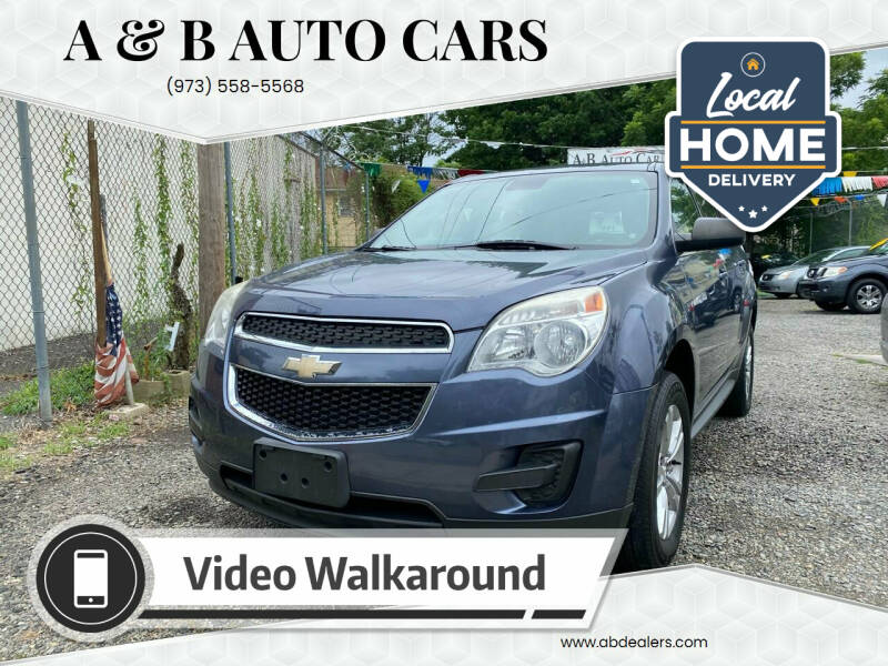 2013 Chevrolet Equinox for sale at A & B Auto Cars in Newark NJ