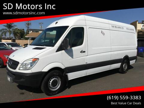2012 Mercedes-Benz Sprinter Cargo for sale at SD Motors Inc in La Mesa CA