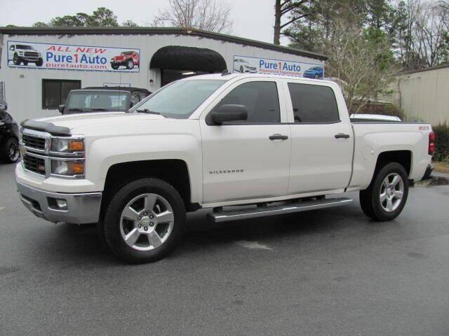 2014 Chevrolet Silverado 1500 for sale at Pure 1 Auto in New Bern NC