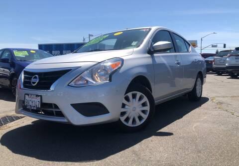 2018 Nissan Versa for sale at LUGO AUTO GROUP in Sacramento CA
