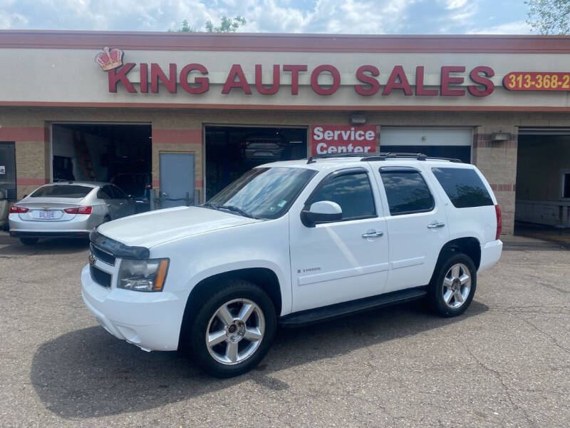 2007 Chevrolet Tahoe for sale at KING AUTO SALES  II in Detroit MI