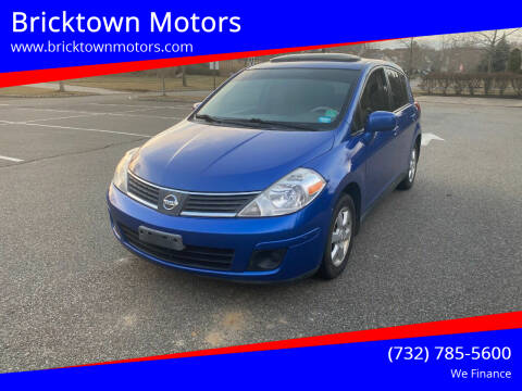 2009 Nissan Versa for sale at Bricktown Motors in Brick NJ